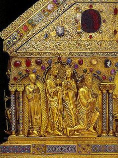 The Three Kings with King Otto IV Nicholas of Verdun Date: c.1200