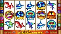 #ReelStrike video slot is a non-progressive, five-reel, fifteen-line game that is developed by Microgaming. It comes with #freeDpins, wild, multiplier, scatter, a #bonus game and a maximum jackpot prize of £50,000.  This #slot has a boating and fishing theme that is portrayed in symbols such as a boat, fishing rod reel, boat accelerator, propeller, and along with various types of #fish.