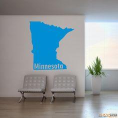 "Wandtattoo ""Minnesota"" - ab 9,95 € | Xaydo Folientechnik"