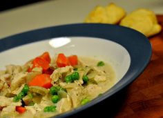 Creamy Slow-Cooker Chicken with Vegetables and Simple Olive Oil Drop ...