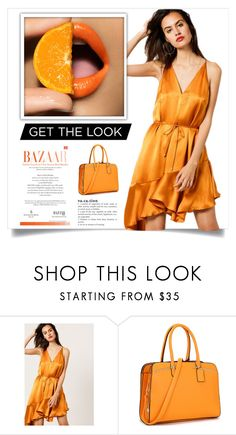 """""""Orange summer"""" by claire394 ❤ liked on Polyvore featuring Acler"""