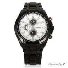 Armbanduhr Black Star Edelstahl schwarz