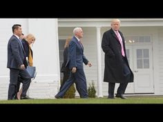 Look What Happened When Trump and Pence Walked Into Church on Sunday - YouTube