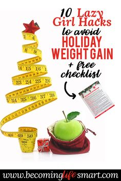 I'm so glad I found these ideas to avoid getting fat during the holidays! I always stuff my face with pie and turkey and then wonder how come I gained 5 lbs. Can't wait to try out her tips so I still enjoy the season without gaining weight. #avoid #weight