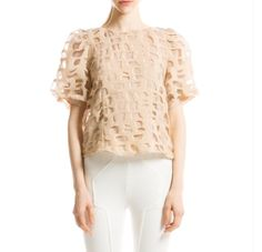Cute top for work or after the job.
