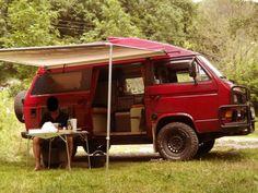 Volkswagen Transporter Syncro 245 097 camper