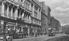 Old photograph of Jamaica Street in Glasgow, Scotland Glasgow Scotland, Edinburgh, Old Photographs, Old Photos, Strange Photos, Old Street, Architecture Old, Places Of Interest, British History
