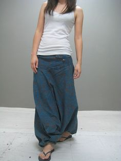 Super harem pant NEW by thaitee on Etsy