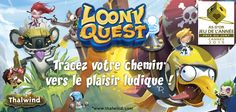 Loony Quest #j2s #boardgame