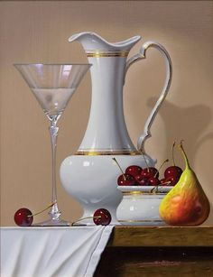 Realistic Still Life Paintings By Spanish Artist Javier Mulio - Fine Art Blogger