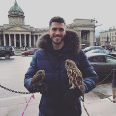 """""""Mi piace"""": 44.2 mila, commenti: 293 - Matt Anderson (@mja5041) su Instagram: """"Got to hold some owls today, so that was cool! #StPetersburgExploration"""""""