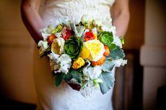 Florals: Soulflower Design Studio http://soulflowersf.com/ Photographer: Elle Jae Weddings - ellejae.com  Read More: http://www.stylemepretty.com/california-weddings/san-francisco/2011/10/04/headlands-center-for-the-arts-wedding-by-elle-jae-weddings/