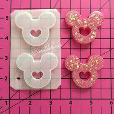 Mickey heart mold
