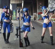 Vi: @kinpatsucosplay Caitlyn: @justinekosuplay Jinx: @giantshev Photography: @jaycaboz Editing: @giantshev Thanks For submiting!! #lol #leagueoflegends #cosplay #vi #jinx #caitlyn #officer #adc #jungle #riotgames by leagueoflegendscosplays