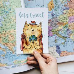 Кот - путешественник