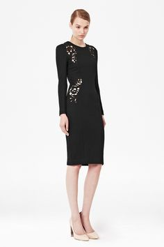 Marie Stretch Embroidered Dress - Sale - French Connection USA  2014