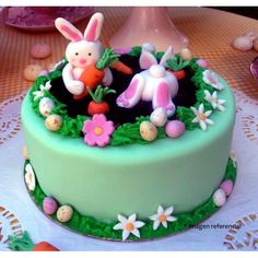 Curso tortas fondant: especial Pascua