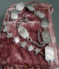 Sterling US Navy bracelets navi bracelet