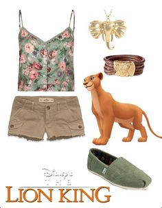 Nala Disney Inspired Outfit