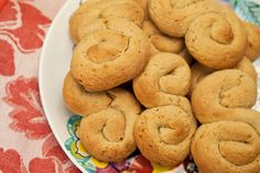 Italian Food Forever » Honey Spice Cookies
