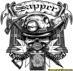 1000 images about tattoo ideas on pinterest royal for Combat engineer tattoo