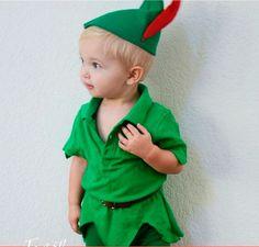Peter pan costume, carnival for kids - DisfrazPeter pan, carnaval para niños, disfraces de dibujos