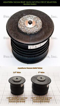 """Aquatherm Vacuum Relief Valve, Cap Style, for 1.5"""" Solar Pool Heating Panels #heating #plans #technology #camera #kit #shopping #fpv #products #parts #drone #tech #gadgets #racing #cap"""