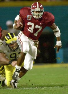 Alabama Crimson Tide Football - Legendary Running Back, Shaun Alexander.