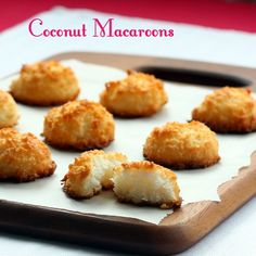 Diabetic Good Baking: Coconut Macaroons