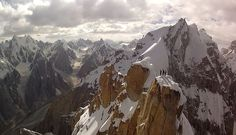 Expect drone video footage to be totally overused in less than a year, but right now, it's still pretty awesome. Trango Towers, Pakistan