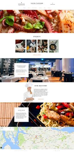 Moto CMS 3 Template , European Restaurant