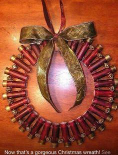 Buckshot wreath