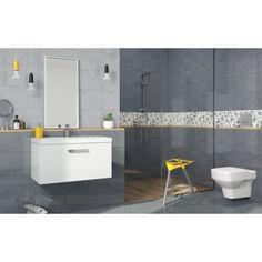 ADELLE Grey Bathrooms, Toilet, Bathtub, Bathroom Ideas, Standing Bath, Flush Toilet, Bathtubs, Gray Bathrooms, Bath Tube