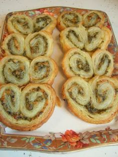Savory palmiers..... great for a Valentine's day appetizer