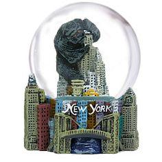 King Kong Mini Snow Globe