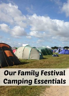 Our Family Festival Camping Essentials. What to take to a festival for camping with kids and children. Things you need for a festival Camping Hacks, Camping Essentials List, Camping Club, Camping Needs, Festival Camping, Camping List, Camping Glamping, Camping Supplies, Camping Checklist