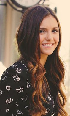 Nina Dobrev - hair inspiration #Beauty #Hairstyle #Hair-color