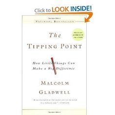 The tipping point is that magic moment when an idea, trend, or social behavior crosses a threshold, tips, and spreads like wildfire. Just as a single sick person can start an epidemic of the flu, so too can a small but precisely targeted push cause a fashion trend, the popularity of a new product, or a drop in the crime rate. This widely acclaimed bestseller, in which Malcolm Gladwell explores and brilliantly illuminates the tipping point phenomenon, is already changing the way people throughout the world think about selling products and disseminating ideas.