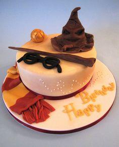Harry Potter Birthday Cake, via Flickr.