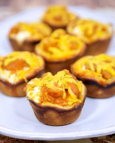 Buffalo Chicken Cupcakes - I would probably do these with blue cheese instead