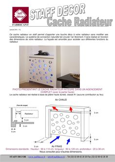 cache radiateur - Staff Decor