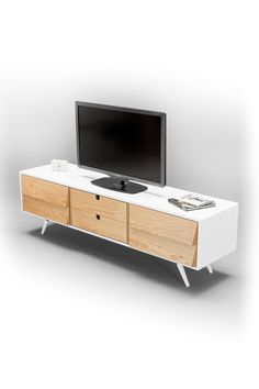 Sideboard dresser cupboard credenza in solid board by Habitables