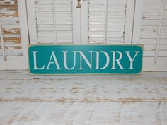 Distressed Laundry Sign Laundry Sign Wall Decor Distressed Laundry Room Sign  Laundry