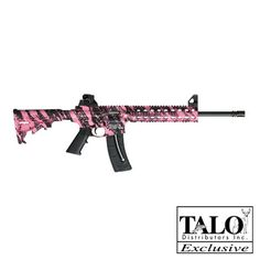 Smith & Wesson Pink Platinum 22LR