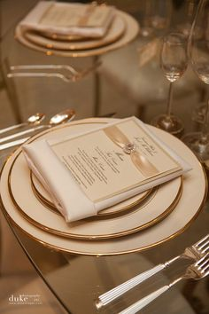 Beautiful wedding table menu via Creative Works Designs + Fancy That! Events