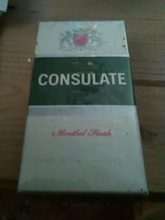 10 vintage Consolate Menthol filter cigarettes by Rothmans still in wrapper | eBay