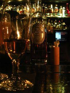 Rum tasting at Cana--my favorite rum bar.