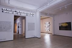 A Storyteller in Istanbul Exhibition by Robert Montgomery at ISTANBUL'74 Gallery, Istanbul – Turkey » Retail Design Blog