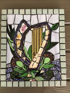 Irish harp by Rozie