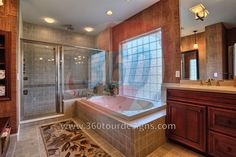 Bathroom Design - 360 Tour Designs - www.360tourdesigns.com